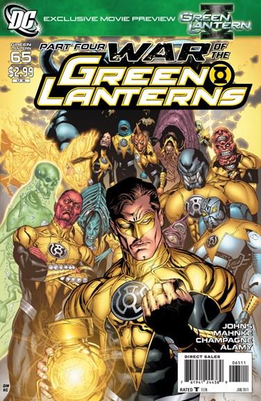 Green Lanterns Cover - 6/1/2011