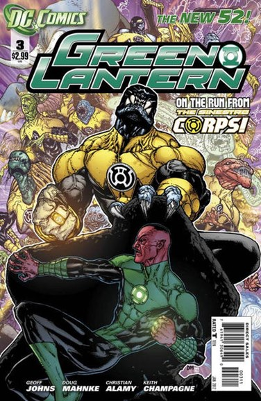 Green Lanterns Cover - 1/1/2012