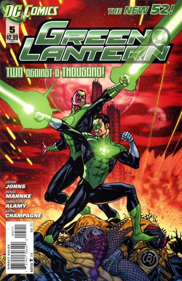 Green Lanterns Cover - 3/1/2012