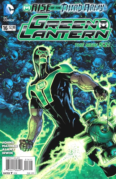 Green Lanterns Cover - 3/1/2013
