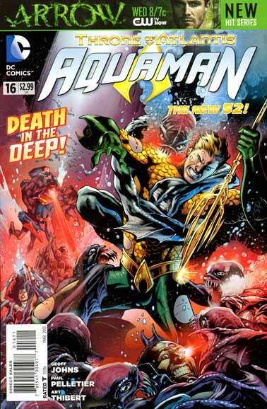 Aquaman Cover - 3/1/2013