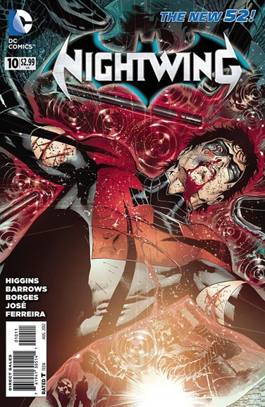 Nightwing Cover - 8/1/2012