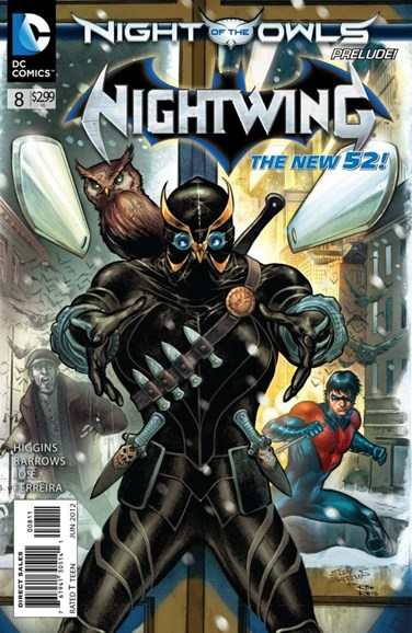 Nightwing Cover - 6/1/2012
