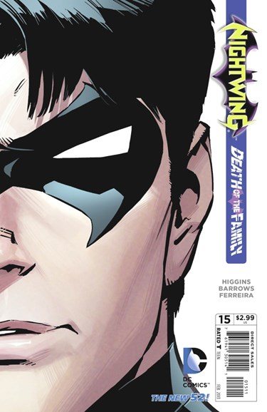 Nightwing Cover - 2/1/2013