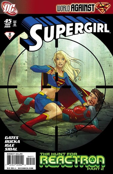 Supergirl Cover - 11/1/2009