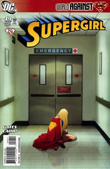 Supergirl Cover - 3/1/2010
