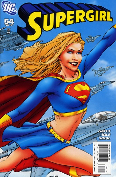 Supergirl Cover - 9/1/2010