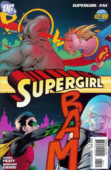 Supergirl Cover - 4/1/2011