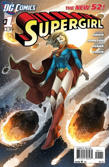 Supergirl Cover - 11/1/2011