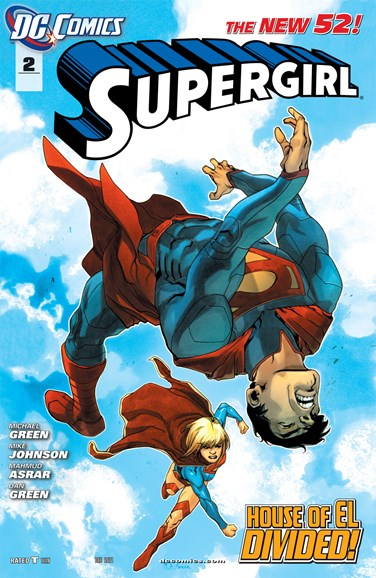 Supergirl Cover - 12/1/2011