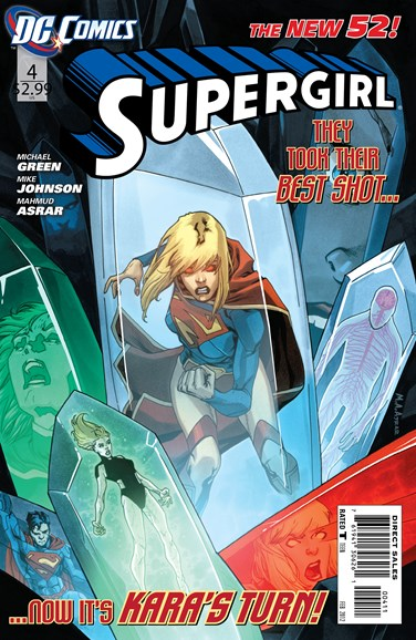 Supergirl Cover - 2/1/2012