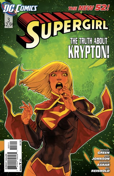 Supergirl Cover - 1/1/2012