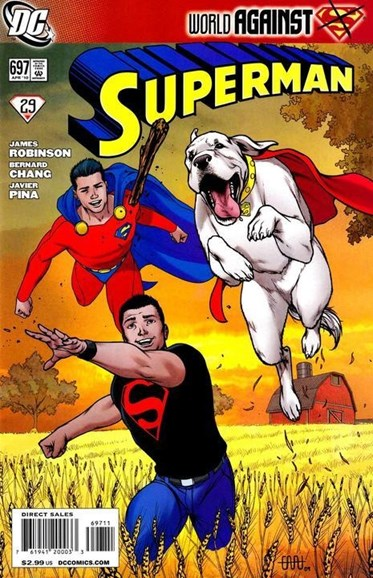 Superman Cover - 4/1/2010