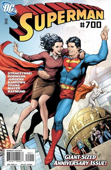 Superman Cover - 8/1/2010