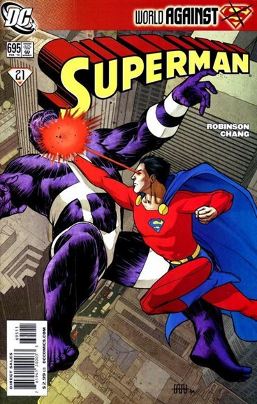 Superman Cover - 2/1/2010