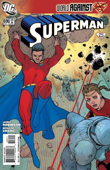 Superman Cover - 3/1/2010