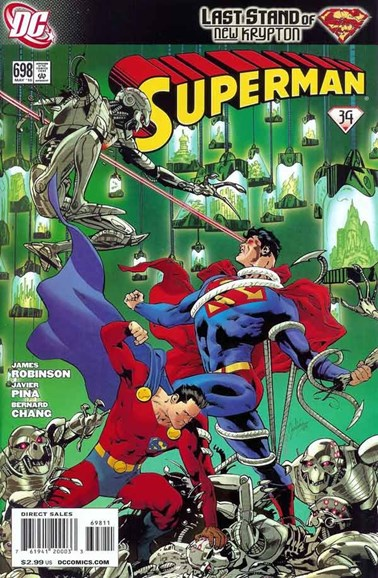 Superman Cover - 5/1/2010