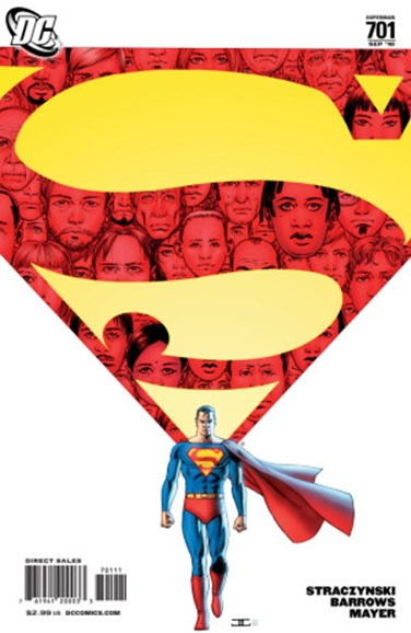 Superman Cover - 9/1/2010