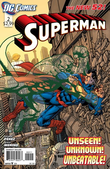 Superman Cover - 12/1/2011