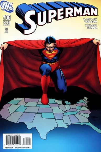 Superman Cover - 2/1/2011