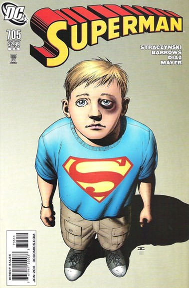 Superman Cover - 1/1/2011