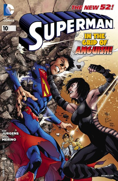 Superman Cover - 8/1/2012