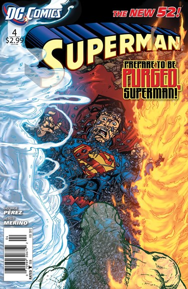 Superman Cover - 2/1/2012
