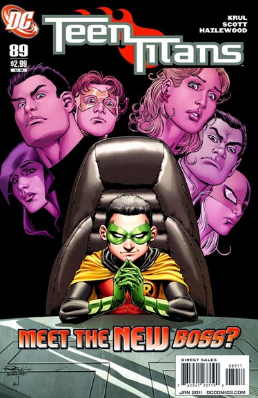 Teen Titans Cover - 1/1/2011