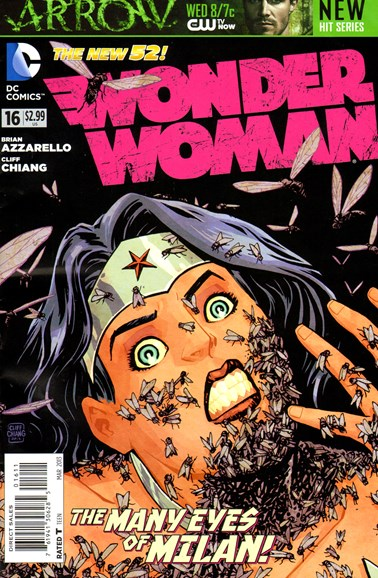 Wonder Woman Cover - 3/1/2013