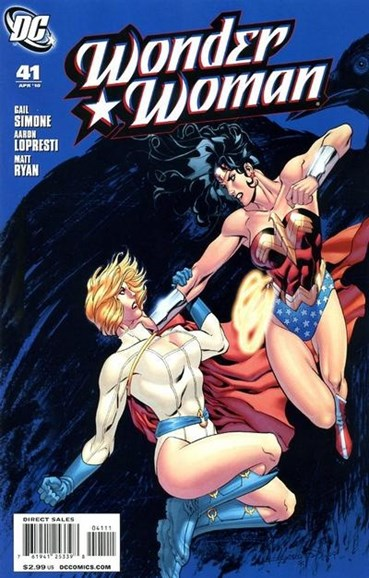 Wonder Woman Cover - 4/1/2010