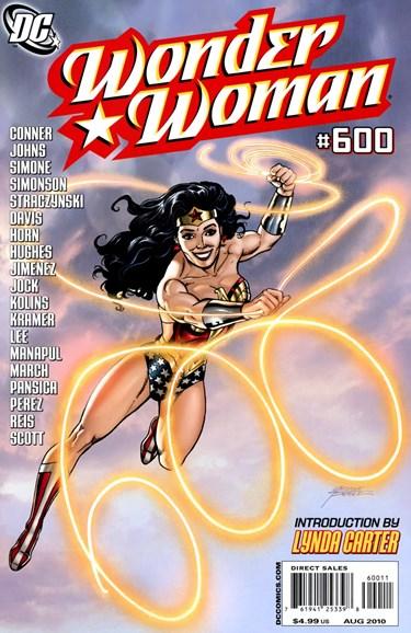 Wonder Woman Cover - 8/1/2010