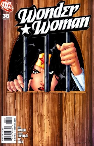 Wonder Woman Cover - 1/1/2010