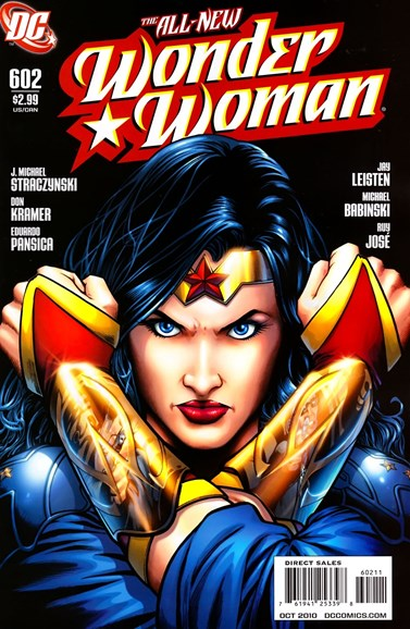 Wonder Woman Cover - 10/1/2010