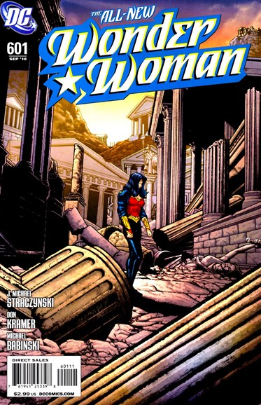 Wonder Woman Cover - 9/1/2010