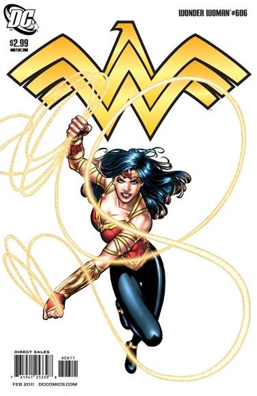 Wonder Woman Cover - 2/1/2011