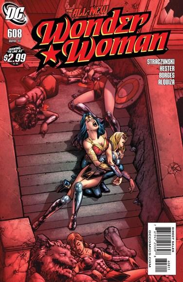 Wonder Woman Cover - 4/1/2011