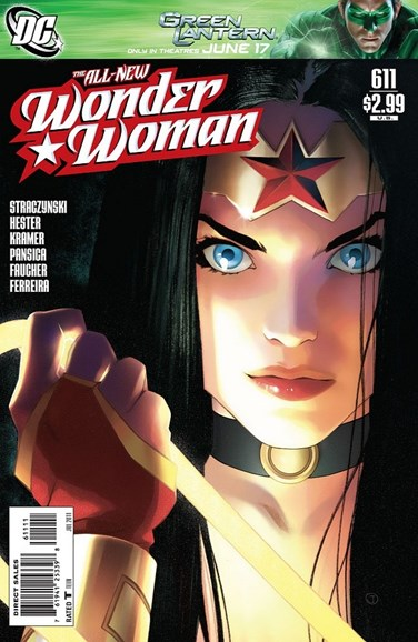 Wonder Woman Cover - 7/1/2011