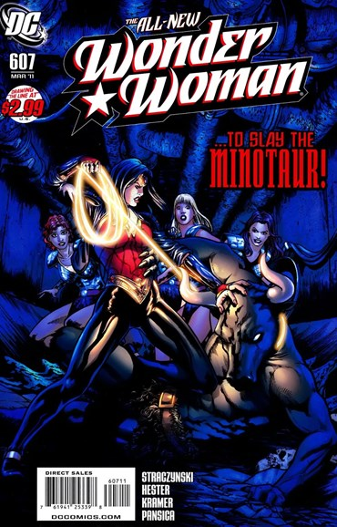 Wonder Woman Cover - 3/1/2011