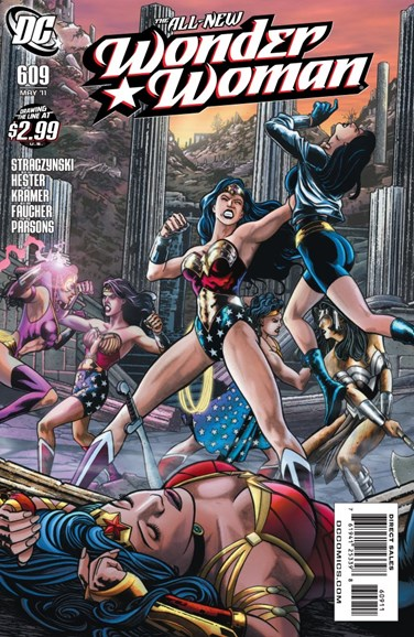 Wonder Woman Cover - 5/1/2011