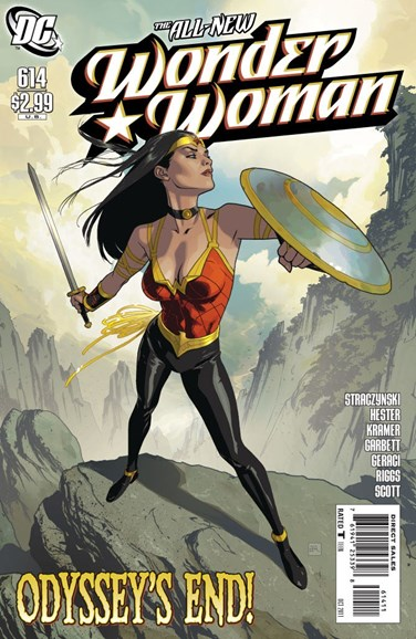Wonder Woman Cover - 10/1/2011