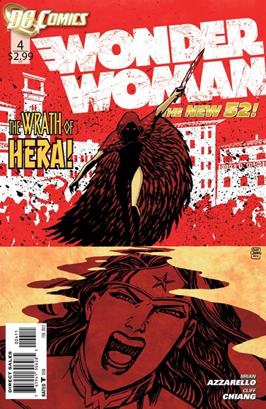 Wonder Woman Cover - 2/1/2012