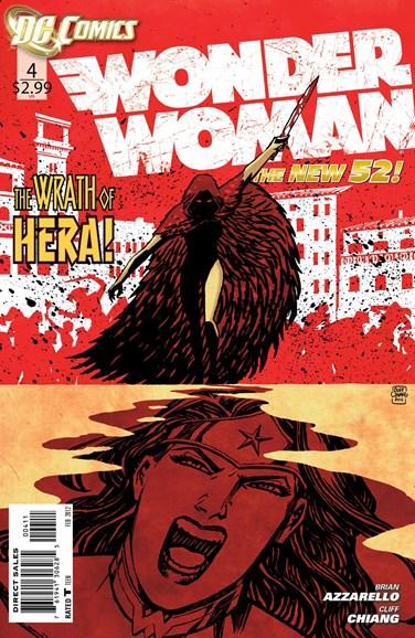 Wonder Woman Cover - 2/1/2012