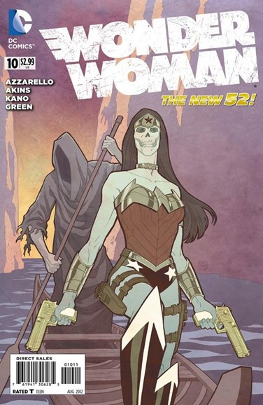 Wonder Woman Cover - 8/1/2012