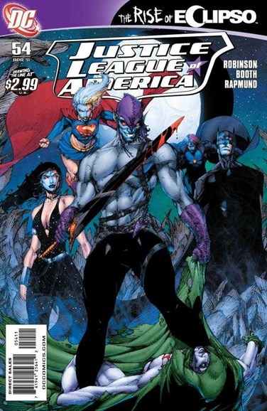 Justice League of America Cover - 4/1/2011