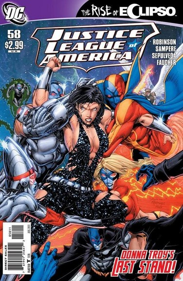 Justice League of America Cover - 8/1/2011