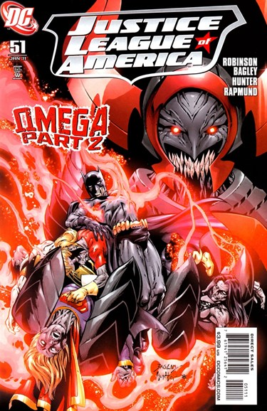 Justice League of America Cover - 1/1/2011