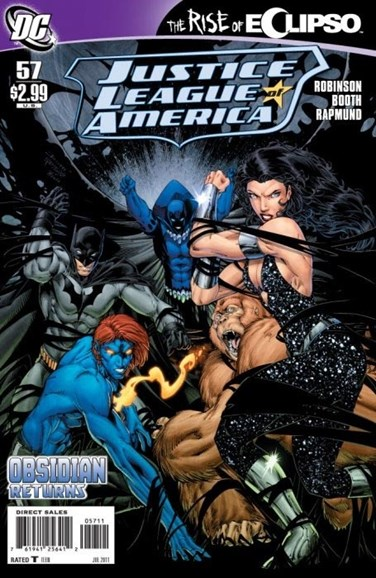 Justice League of America Cover - 7/1/2011