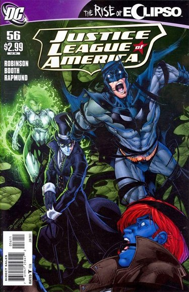 Justice League of America Cover - 6/1/2011