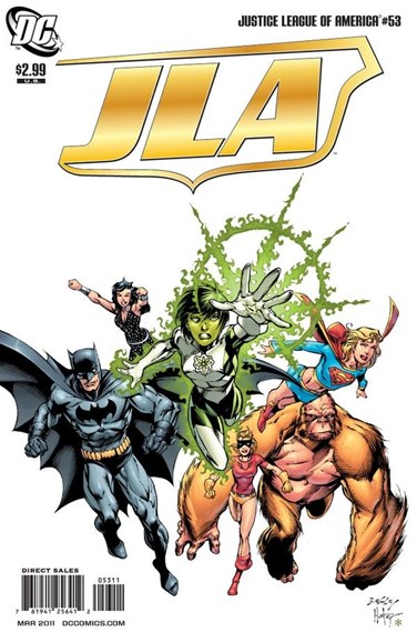 Justice League of America Cover - 3/1/2011
