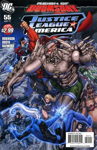 Justice League of America Cover - 5/1/2011